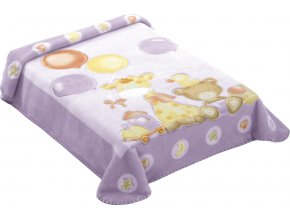 Španělská deka 546 - fialová, 80 x 110 cm