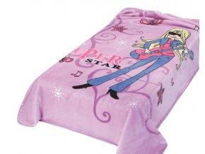Španělská deka 230 - fialová, 160 x 220 cm