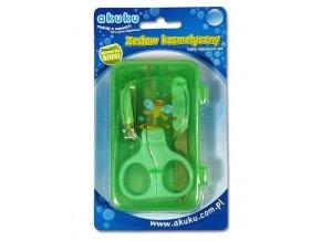 Dětská manikúra Akuku zelená