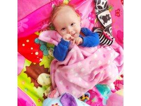 Luxusní hrací deka s melodií PlayTo zvířátka