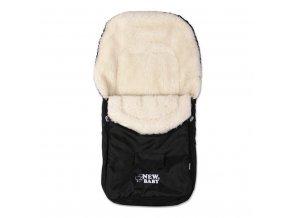 Zimní fusák New Baby Classic Wool black