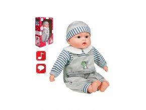 Polsky mluvící a zpívající dětská panenka PlayTo Agnieszka 46 cm
