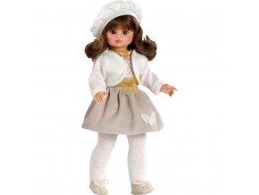 Luxusní dětská panenka-holčička Berbesa Roberta 42cm