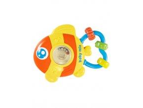Dětské chrastítko se zvukem Baby Mix Rybička