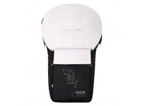 Luxusní fleecový fusák New Baby černý