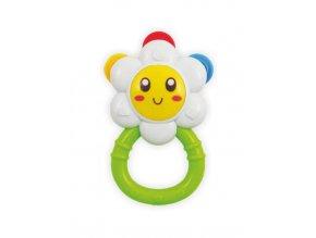 Dětské chrastítko Baby Mix květinka