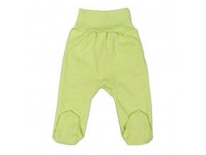Kojenecké polodupačky New Baby zelené 74