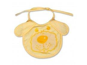 Dětský bryndák New Baby žlutý