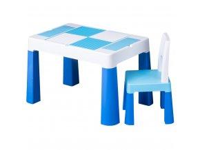 Dětská sada stoleček a židlička Multifun blue