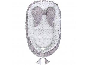 Hnízdečko pro miminko Minky Belisima šedé