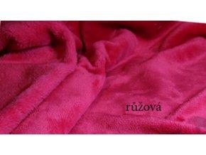 Dětská deka do kočárku se jménem na přání- srdíčka