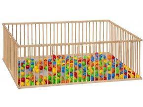 Dětská dřevěná ohrádka - Scarlett Branko - buk