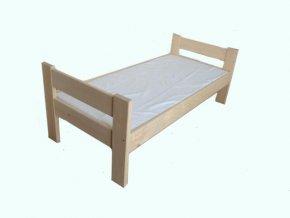 Masivní postel Alice 90 x 200cm + rošt
