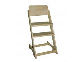 Dětská rostoucí židle VANESSA II borovice + polštářek zdarma