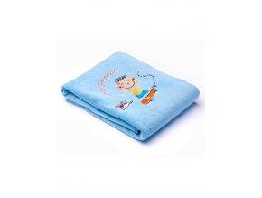 Dětská deka Sensillo Děti 75x100 cm blue