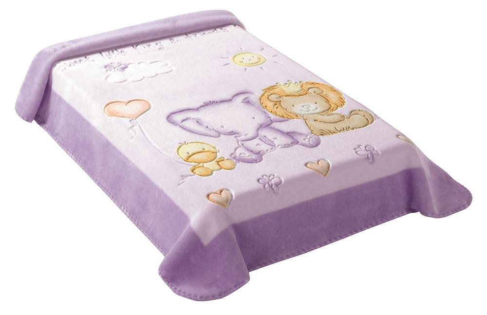 Španělská deka 547 - fialová, 80 x 110 cm