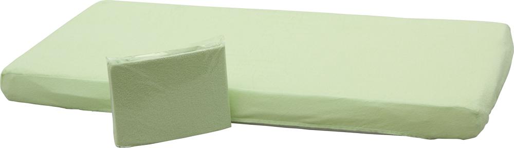 Prostěradlo nepropustné - Scarlett /120x60 cm/ - zelená