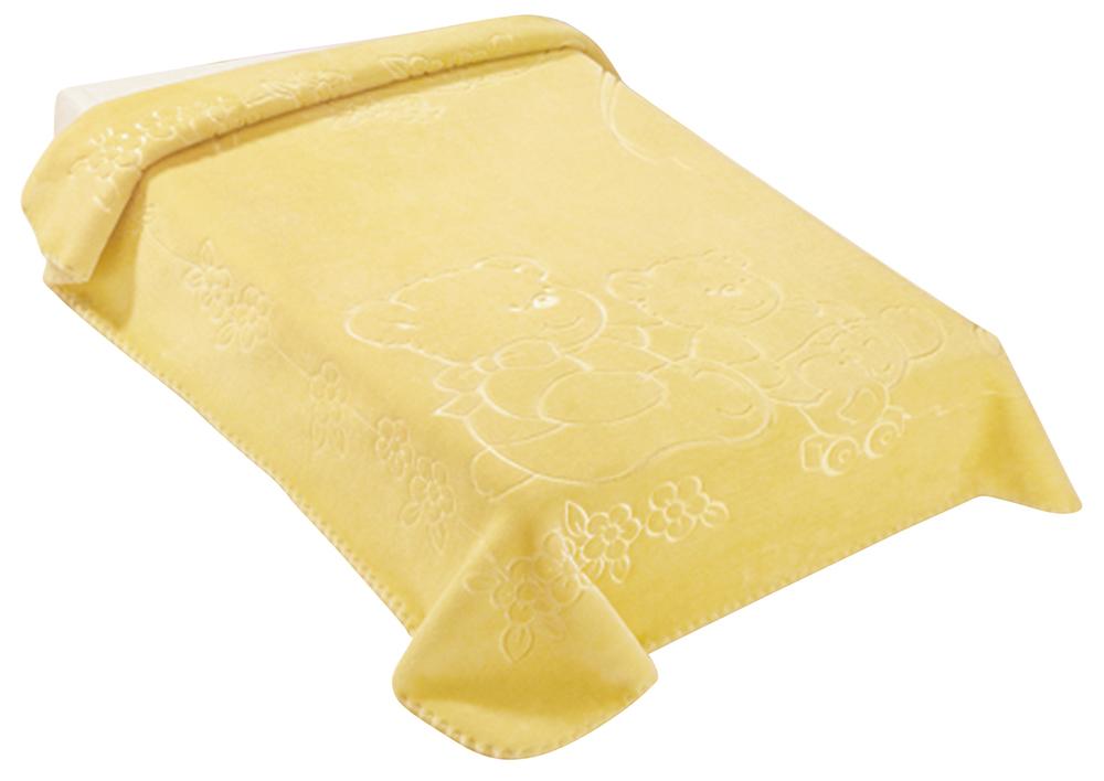 Španělská deka 518 - žlutá, 80 x 110 cm