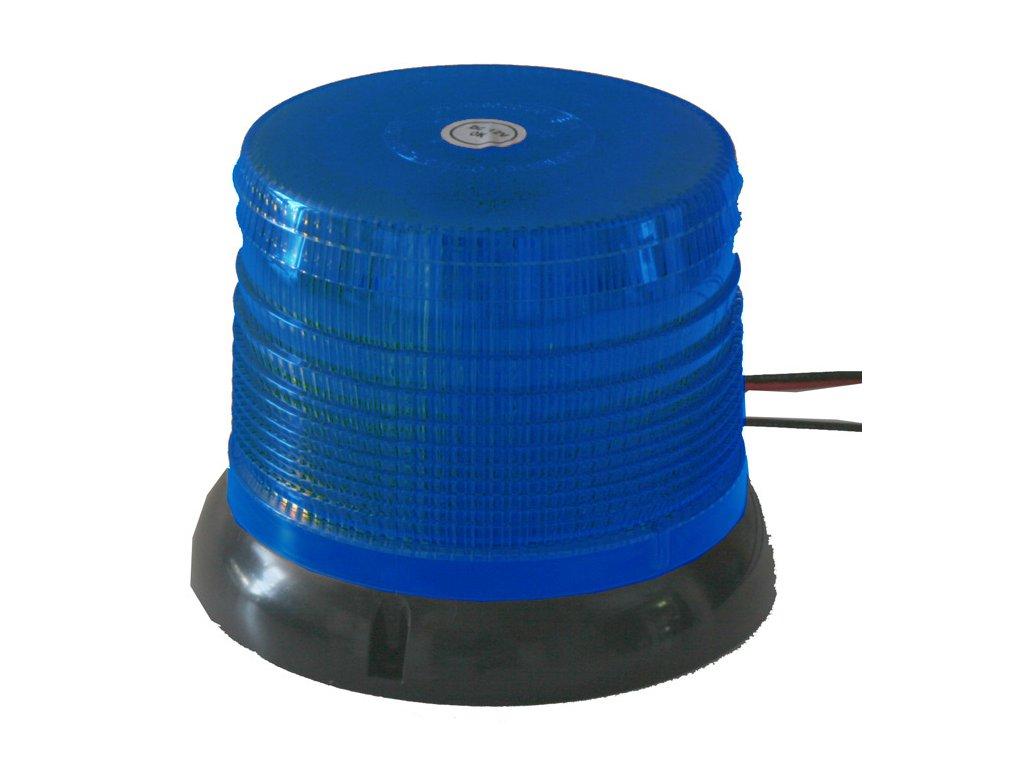 WL62 maják LED 12-24V modrý pevná montáž homologace