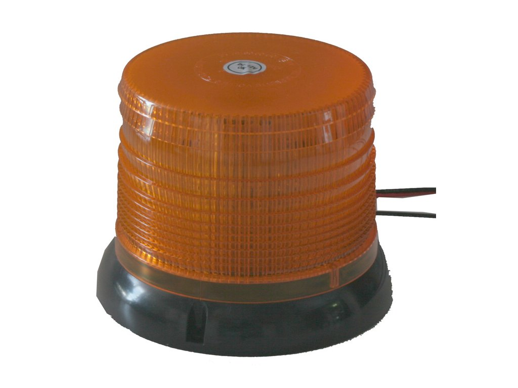 WL62 maják LED 12-24V oranžový pevná montáž homologace