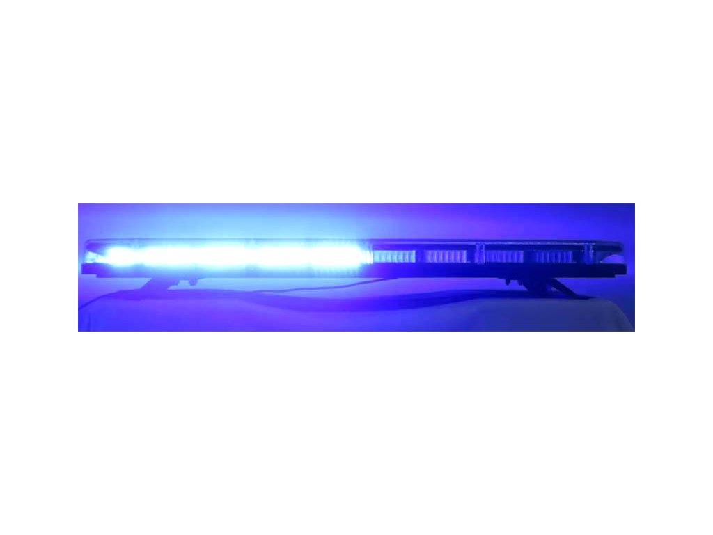 SRE1-164 Majáková LED rampa 12V-24V 164 LED modrá 1149 mm, homologace