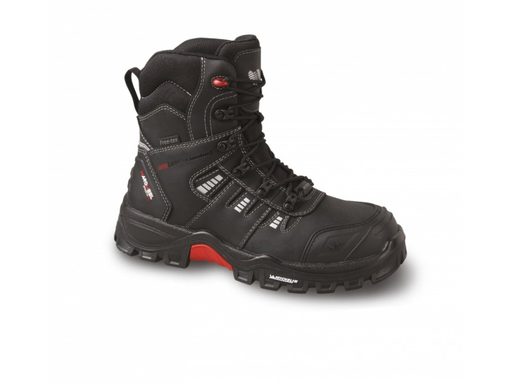 VM MICHELIN PORTLAND 7190-O2 pracovní holeňová obuv celokožená non-metalic, vel. 40-47