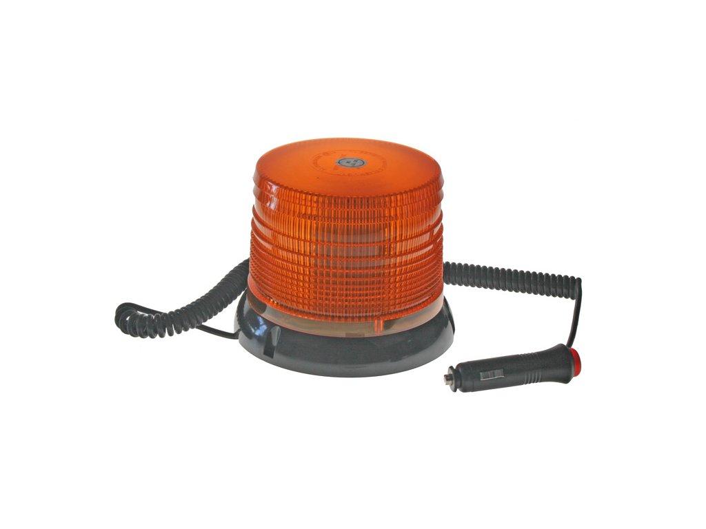 WL61 maják LED 12-24V oranžový magnetický homologace