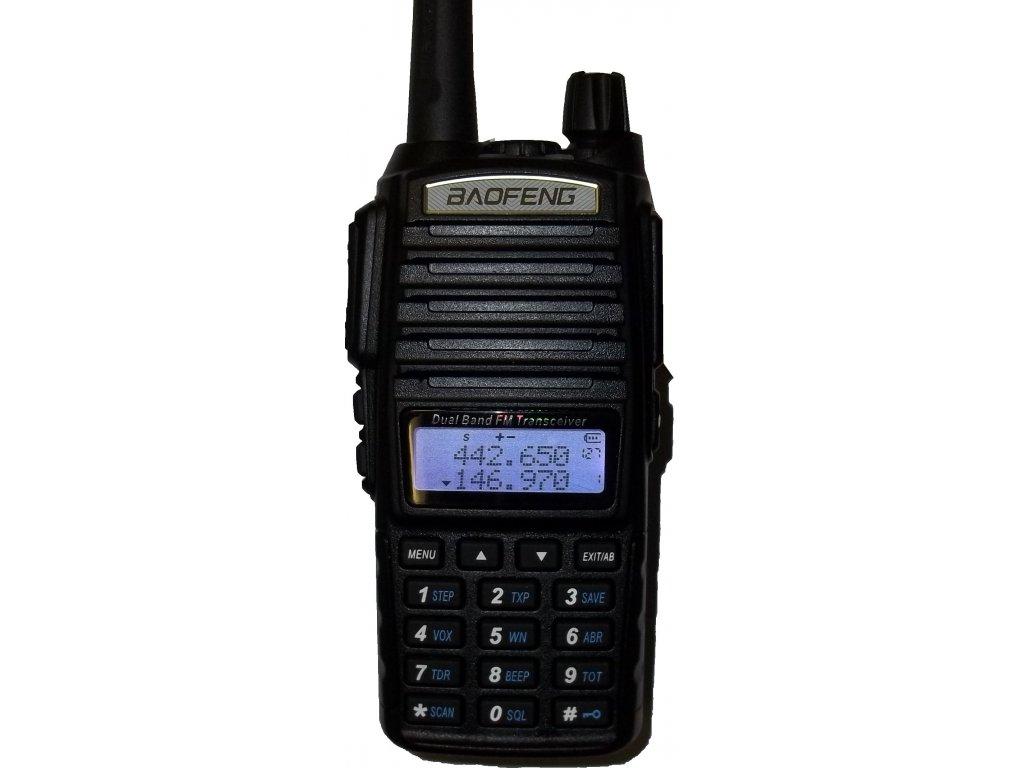 BAOFENG UV-82 VHF/UHF 128 kanálů 5W LCD