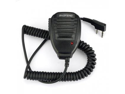 BAOFENG externí mikrofon pro UV-5R / UV-5RA / UV-82 / BF-888S bulk