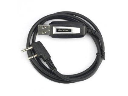 BAOFENG BF-S122 datový kabel USB pro UV-5R / UV-6 / UV-8 / UV-82 / BF-888S