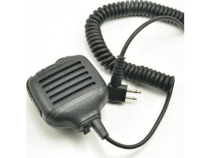 MOTOROLA HMN9027-17 externí mikrofon RSM s konektorem pro sluchátko, pro řadu CP040/CP140/CP160/CP180/CP340/P145/P165/P185