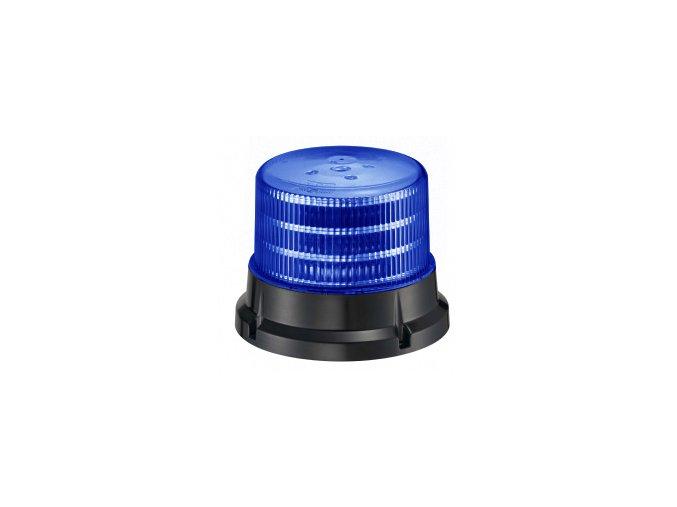 911 SIGNAL 75F maják 12-24V modrý homologace dle E4-65R/E9-10R/SAE J845, 36 LED diod 0,5 W, 4 světelné režimy, pro pevnou montáž