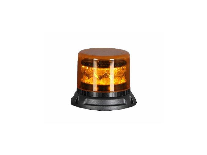 911 SIGNAL C24M maják LED 12-24V oranžový magnetický homologace R65/E10, 24 LED diod 3 W, 22 světelných režimů