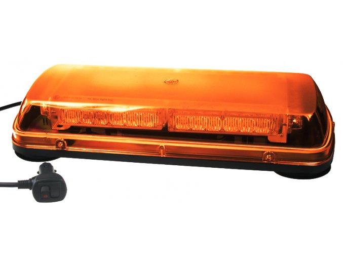 KF11M Majáková LED minirampa magnetická 12V oranžová 32 x 1W LED