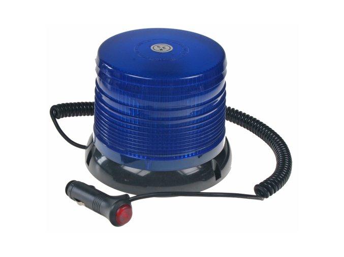 WL61 maják LED 12-24V modrý magnetický homologace