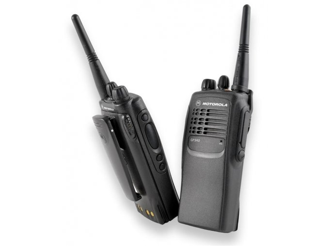 GP340 UHF 4W 16 kanálů Select5