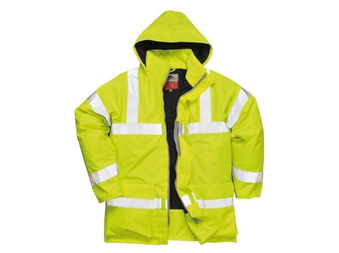 PORTWEST Hi-Vis S778 antistatická nehořlavá reflexní bunda žlutá vel. S-3XL