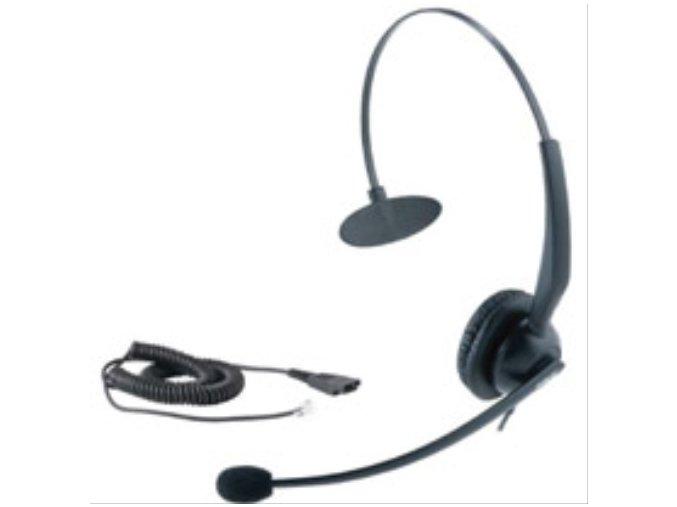 YEALINK (WELL) YHS32 náhlavní souprava, pro VoIP telefony SIP-T38G, SIP-T28P, SIP-T26P, SIP-T22P, SIP-T20P, SIP-T20