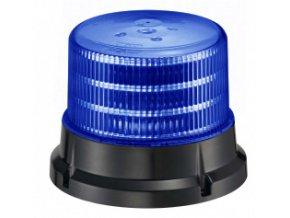 911 SIGNAL 75M maják magnetický LED 12-24V modrý homologace dle E4-65R/E9-10R/SAE J845, 36 LED diod 0,5 W, 4 světelné režimy, magnetické provedení nebo pro pevnou montáž