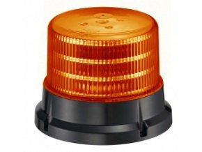 911 SIGNAL 75M maják magnetický LED 12-24V oranžový homologace dle E4-65R/E9-10R/SAE J845, 36 LED diod 0,5 W, 4 světelné režimy, magnetické provedení nebo pro pevnou montáž