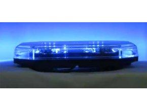 SRE2 Majáková LED rampa magnetická 12V-24V modrá, homologace