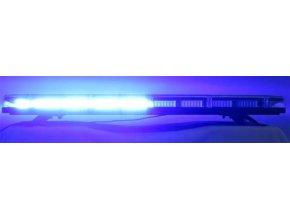 SRE1-132 Majáková LED rampa 12V-24V 132 LED modrá 921 mm, homologace