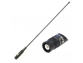 NAGOYA NA-771 anténa VHF/UHF, max. 10W, zisk 2,15/3dB, SMA female konektor, délka 38 cm, pro Baofeng / Kenwood / Wouxun