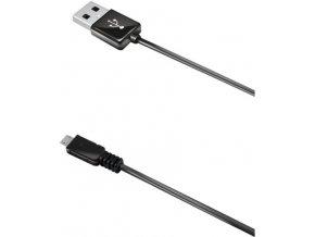 CELLY USB datový kabel MicroUSB 1 m černý, pro nabíjení a synchornizaci