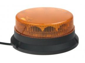 911 SIGNAL 16F maják 12-24V oranžový pevná montáž homologace