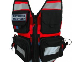 REDSIDE záchranářská vesta červená