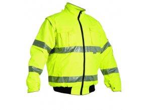 ČERVA Clovelly PILOT zateplená reflexní bunda žlutá vel. M-XXXL