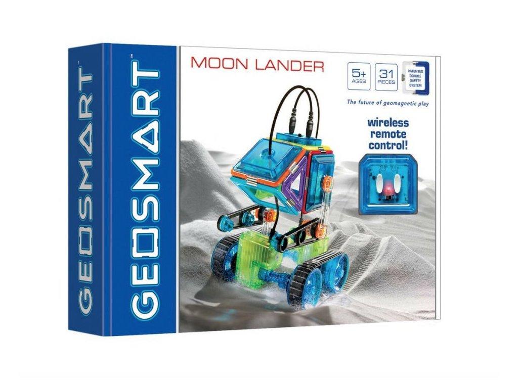 GeoSmart - magnetická stavebnice Moon Lander - 31 ks