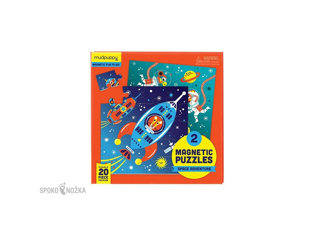 magnetické puzzle vesmír