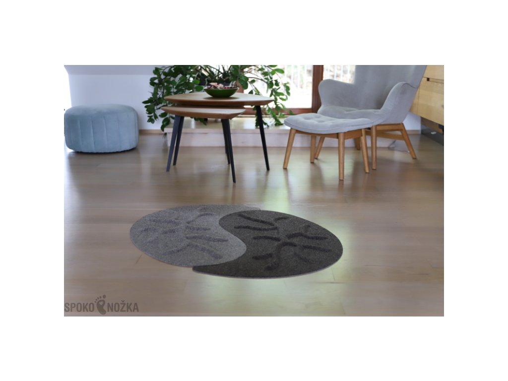 Kořenový koberec RootyRUG Yin Yang